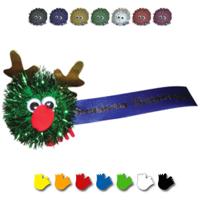 Glitter Reindeer Logobug