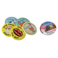 77, 57, 45 Or 32Mm Button Badges