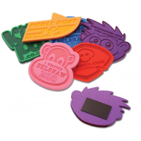 Embossed Foam Magnets