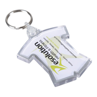 Acrylic Sports Kit Keyring