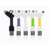 Double Sync and Charge Keyrings Chains Cables