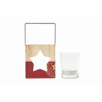 Wooden decoration holder- star