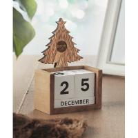 Christmas desktop calendar