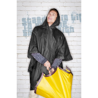 Raincoat in pouch