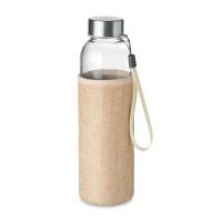 Glass bottle in pouch 500ml