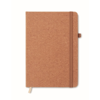 Recycled PU A5 lined notebook