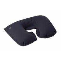 Inflatable pillow in pouch