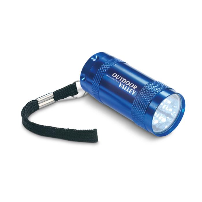 Aluminium torch w/ lanyard
