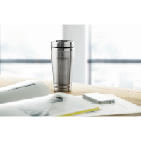 Double wall travel cup