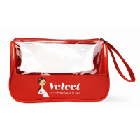Toiletry bag microfiber w PVC