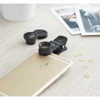 Universal phone camera lenses