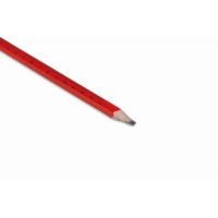 Carpenters pencil with ruler