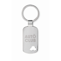 Keyring with car detail