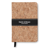 A6 Notebook Cork Covered