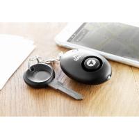 Personal alarm with keyring