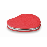 Heart PU mirror