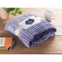 Yarn dyed flannel blanket