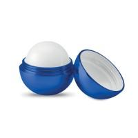 Round lip balm UV finish