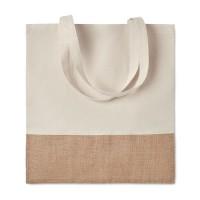 Shopping bag w/ jute details