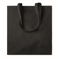 Cotton shopping bag w/ gusset