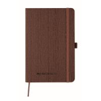 A5 notebook in PU with penloop