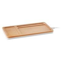 Desktop wireless charging pad
