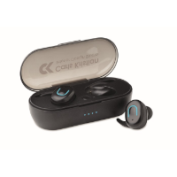 TWS earbuds with charging box
