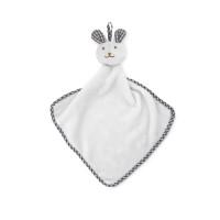 Plush rabbit design baby towel