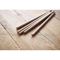 10 paper straws in Kraft box