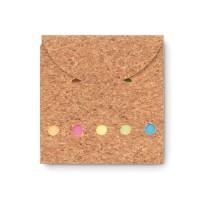 Cork memo pad