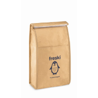 Woven paper 2.3L lunch bag.