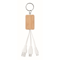 Bamboo 3-in-1 cable