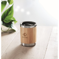 Tumbler S/S and bamboo 250ml