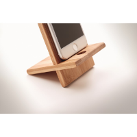 Bamboo phone stand/ holder