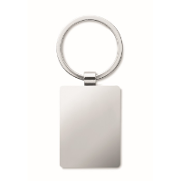 Rectangular key ring bamboo