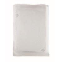 Biodegradable poncho and bag