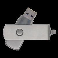 Metal Twister USB Flash Drive