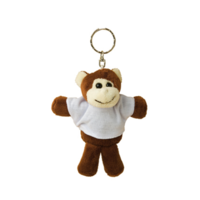 Plush Keychain Monkey