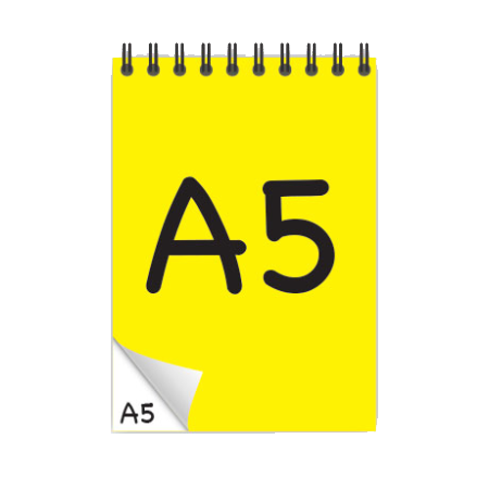 A5 Desk-Mate® with Wire Bound Cover