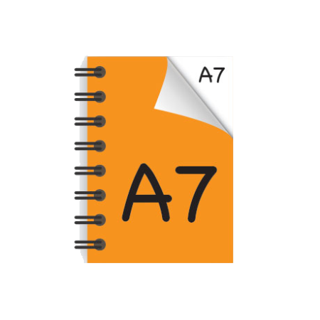 A7 Desk-Mate® with Wire Bound Cover