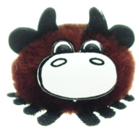Branded Logo Brown Cow Bug