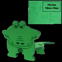 3D Foam animal puzzle Crocodile
