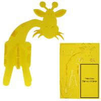 3D Foam animal puzzle Giraffe