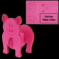 3D Foam animal puzzle Pig