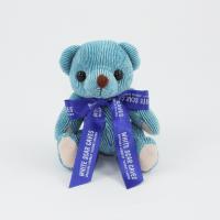 12.5cm Blueberry Candy bear Bow