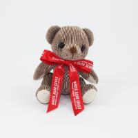 12.5cm Chocolate Candy bear Bow