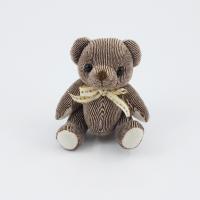 12.5cm Chocolate Candy bear plain