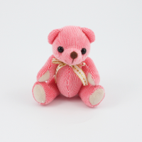 12.5cm Strawberry Candy bear plain