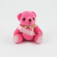 12.5cm Raspberry Candy bear sash