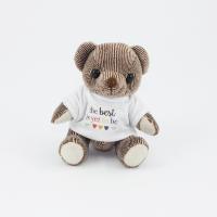 12.5cm Chocolate Candy bear tshirt